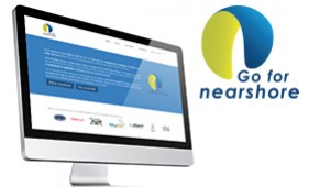 Logo & website Go For Nearshore